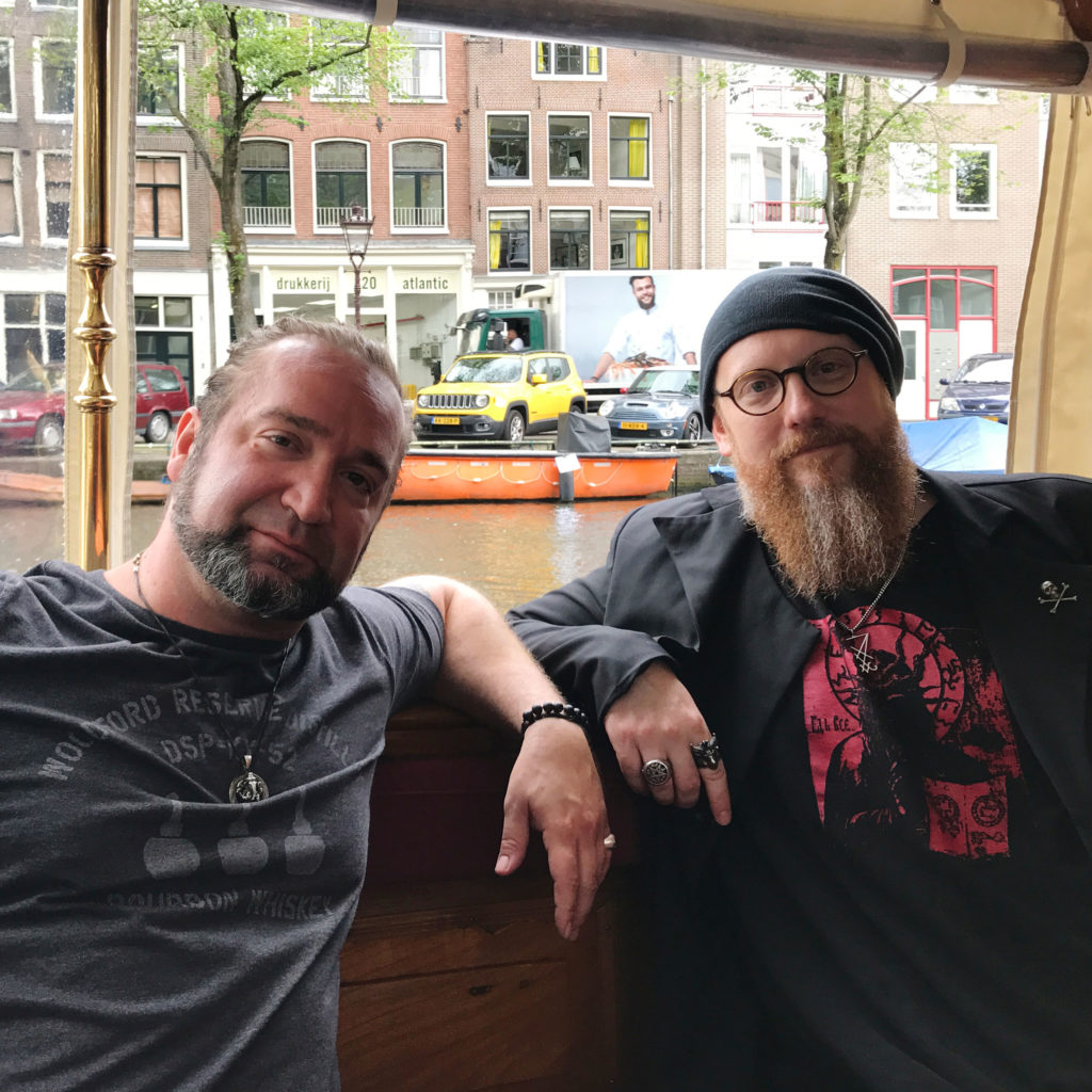 Ed and Arthur in Amsterdam