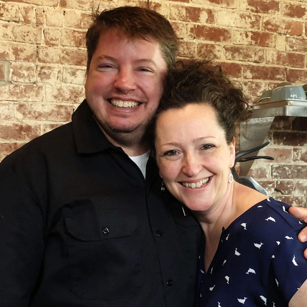 Mark Swartz and Erin Kem